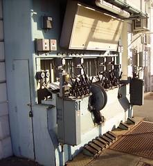 Gare de Mussidan-poste d'aiguillage manuel