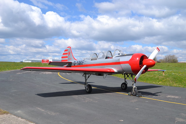G-YAKF Yakovlev Yak-52