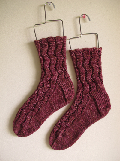 Waving Lace Socks_6
