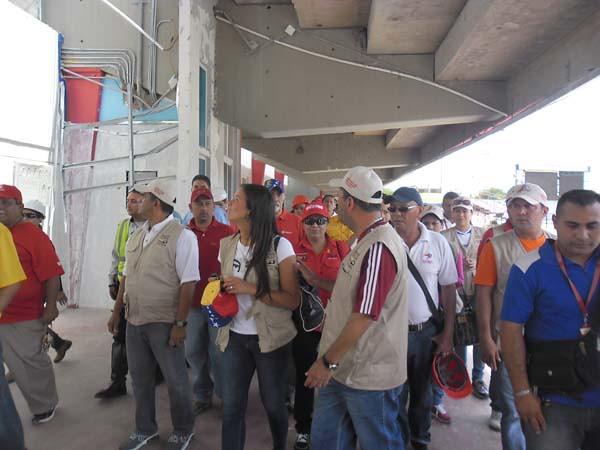 Ministra del Deporte inspecciona el Pachencho Romero