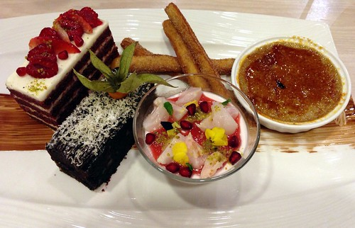 The Desserts Platter at MEDZS