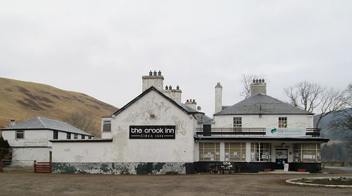 The Crook Inn, Tweedsmuir, 1