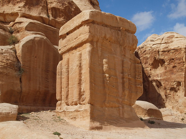 Carved block petra jordan flickr photo sharing
