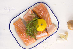 salmon with dill and lemon