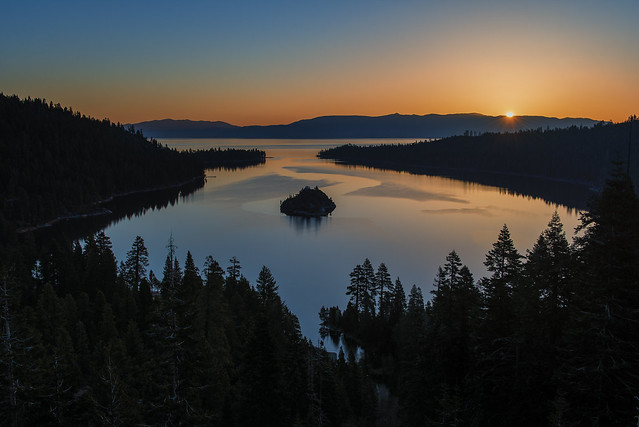 Emerald Bay Lake Tahoe Sunrise