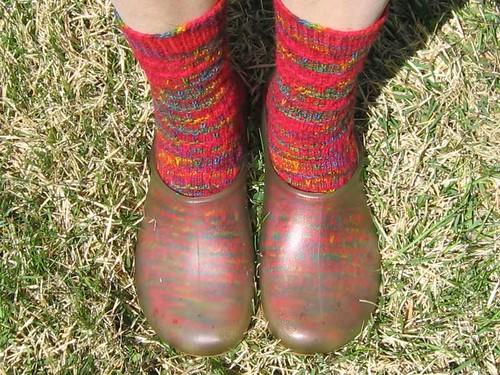 Socks I was wearing