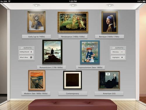 Art Authority App for iPad