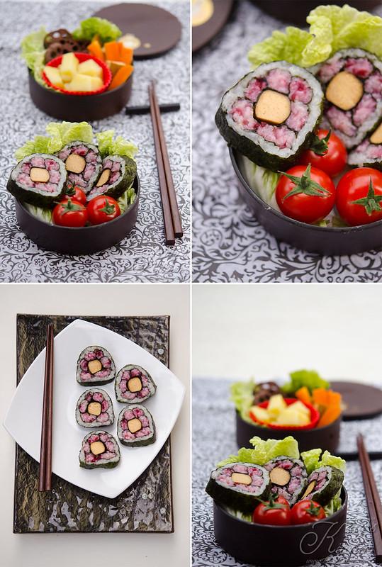 Sakura sushi bento2