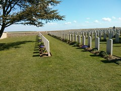Noyelle - The Chinese WWI cemetry