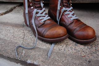 Heritage Red Wing Iron Ranger