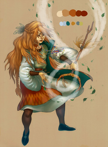 повелительница ветра