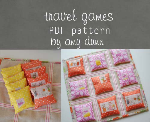 travel games pattern