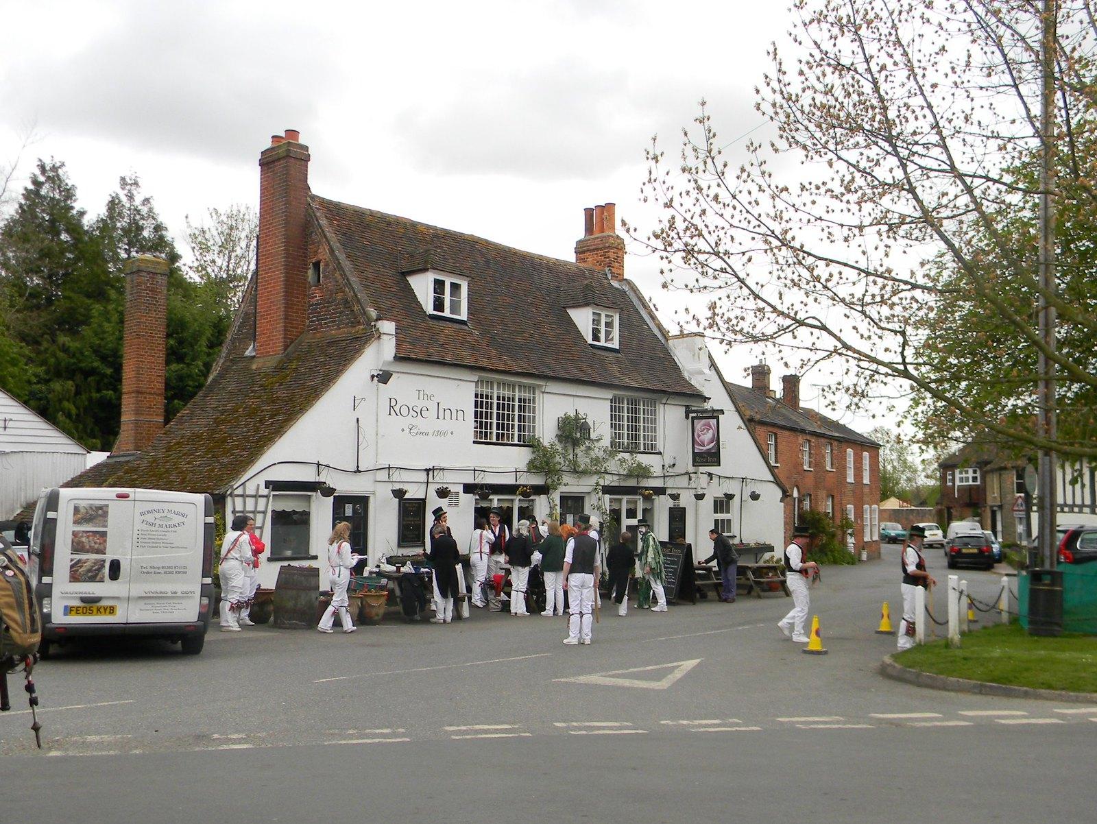 Oyster Morris, Wickhambreaux Bekesbourne Circular
