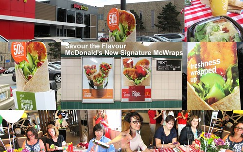 Anne Parks & McDonald's Signature Wraps