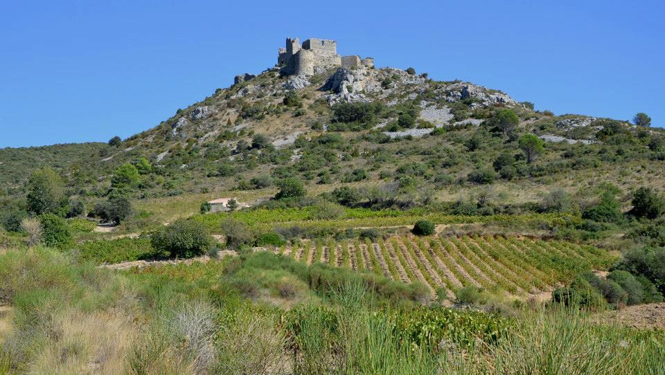 Plongée dans les Corbières au Château d'Aguilar