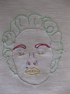 Green Hair Madonna (4th out of 110 Madonnas)