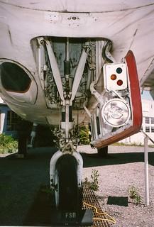 Douglas KA-3B Skywarrior WAM, now Oakland Air MuseumA3_nose_gear