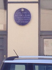 Photo of William F. Peare blue plaque