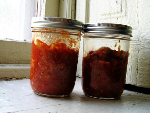 tomato shakshuka jars