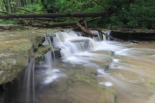 water waterfalls