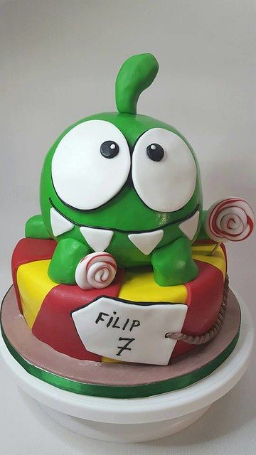 Cut the Rope Cake by Bogna Kuleszewicz of Cake Happens