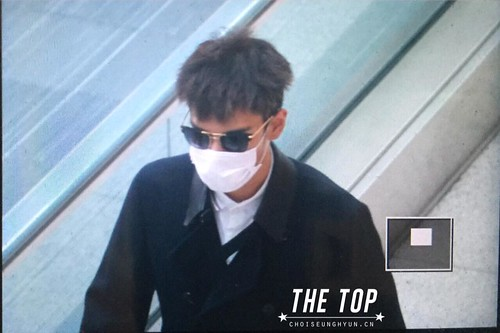 Big Bang - Incheon Airport - 29may2015 - TOP - The TOP - 05