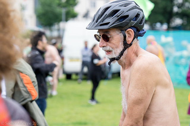 World Naked Bike Ride Brighton 2016