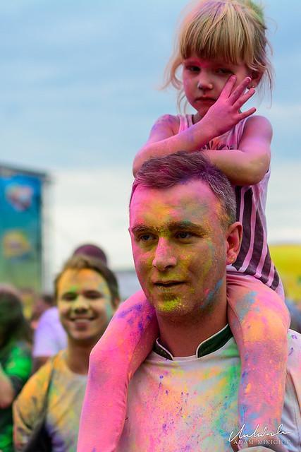 Festival of Colors / Festiwal Kolorów / Festival der Farben