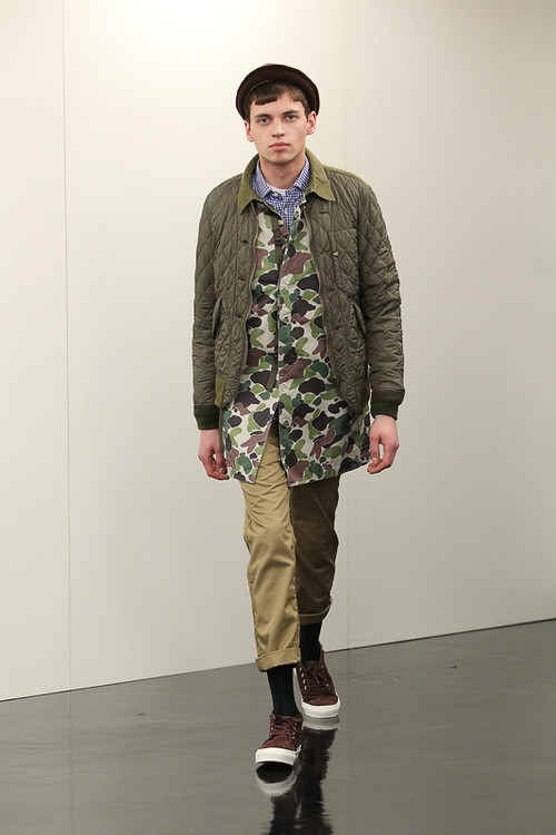 FW13 Tokyo COMME des GARCONS HOMME018_Hubi @ ACTIVA(Fashionsnap)