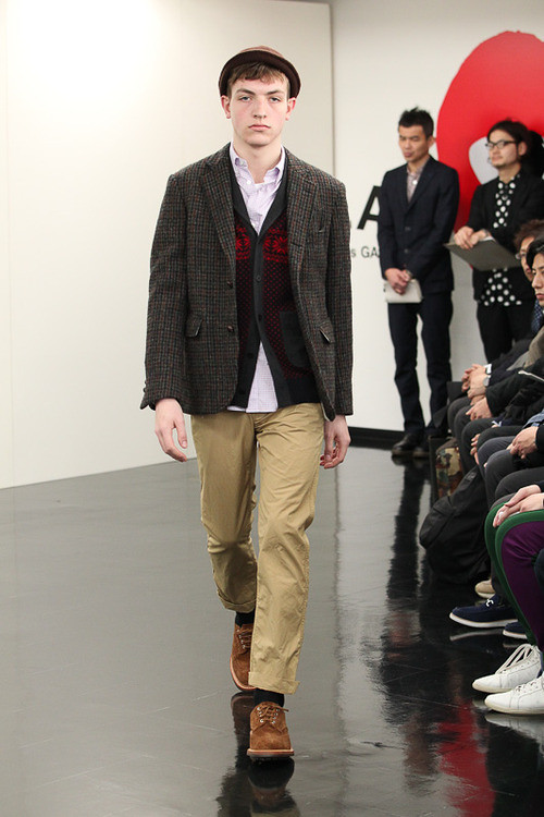 FW13 Tokyo COMME des GARCONS HOMME012_Marcel @ ACTIVA(Fashionsnap)