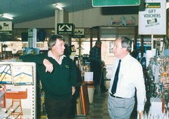 1985 approx Ed Manning and Bob Prettijohn from United Hardware