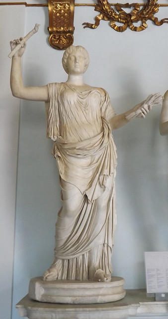 Hera Restored as Ceres with the Head of Faustina the Younger in the Capitoline Museum, July 2012