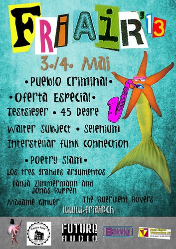 Fri Air 2013 - Flyer - 03.05.2013 - PUEBLO CRIMINAL