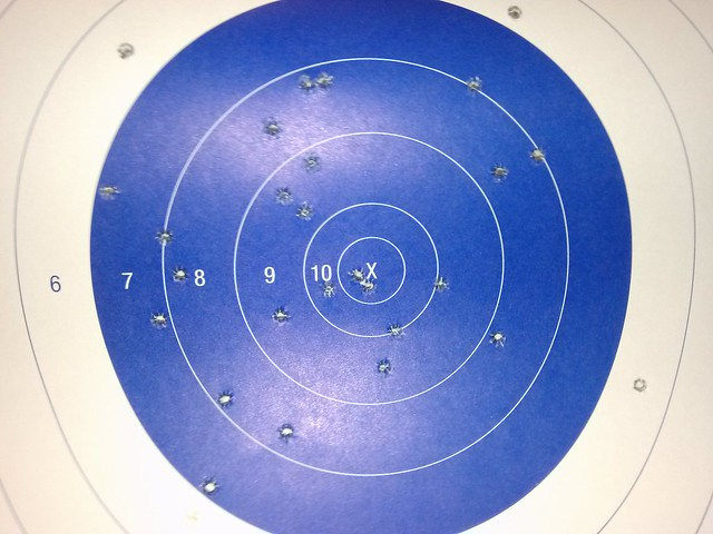 56, and with no glasses I see the target...... - Range Report