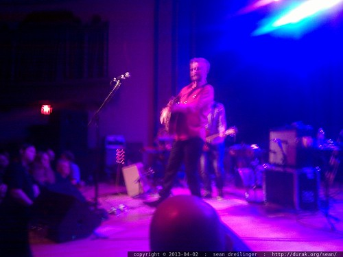 Billy Bragg at the Aladdin Theater in Portland, Oregon   IMG 20130402 223006