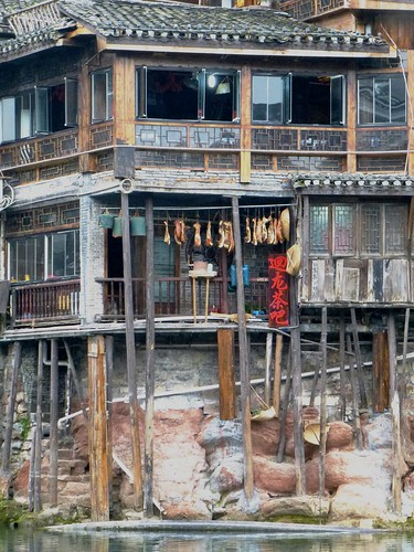 Hunan13-Fenghuang-Ville-Rive Nord (60)