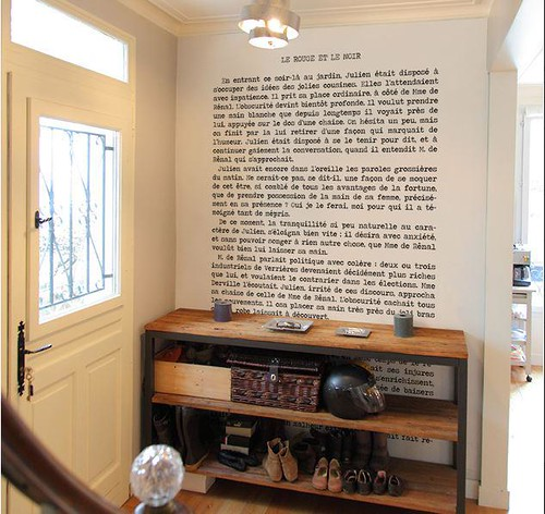 Obsession! Ecrire sur un mur