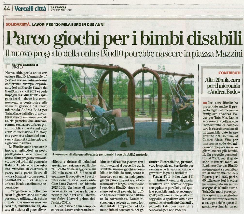 La Stampa 05-04-2013