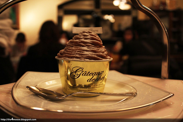 Salon de the Alcyon - Mont Blanc