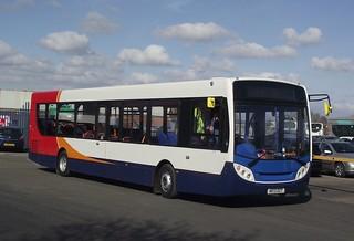 Stagecoach Group Enviro 300 AE13DZT