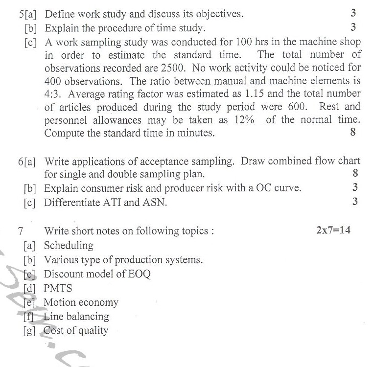 DTU Question Papers 2010 – 8 Semester - End Sem - ME-411