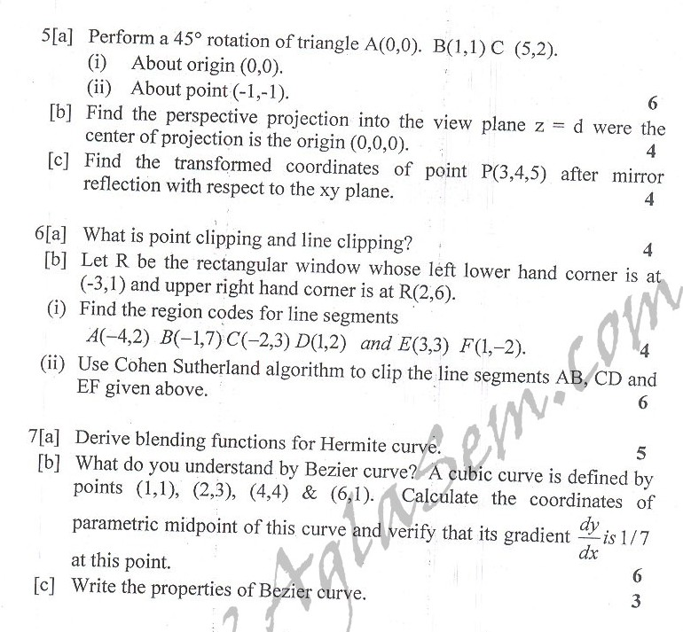 DTU Question Papers 2010 – 4 Semester - End Sem - IT-214