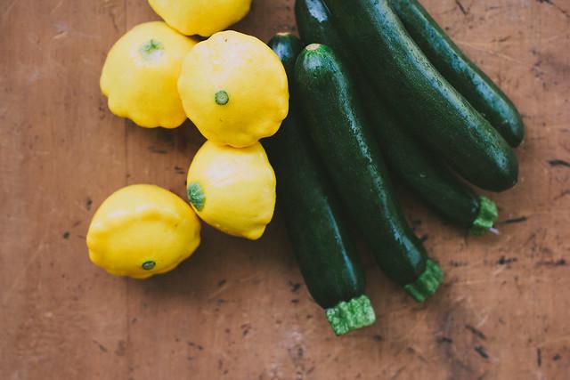 zucchini {courgette}