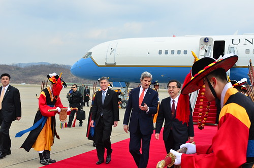 Secretary Kerry Arrives in South Korea by U.S. Department of State