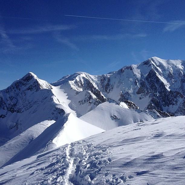 Dômes de Miage, sommet #skitouring