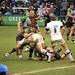 Small photo of Nick Easter & Joe Gray tackling...