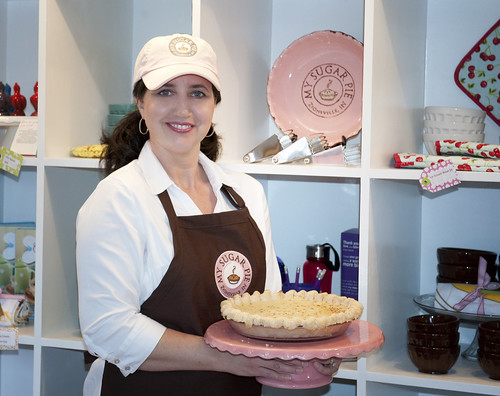 Kelly Maucere - owner of My Sugar Pie bakery in Zionsville