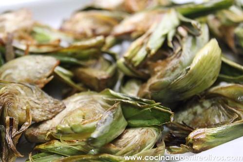 Alcachofas fritas www.cocinandoentreolivos (13)