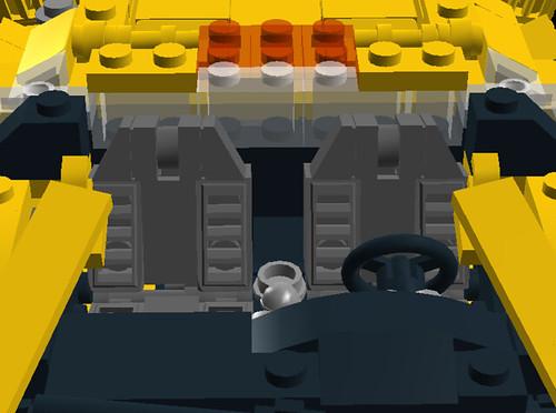 Lamborghini Diablo VT 6.0 interior 2