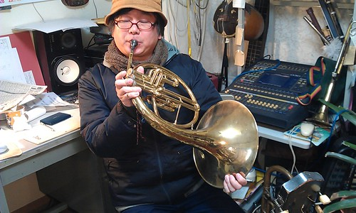 "new video! ""Mellophone Blues""002 by Kanda Mori"